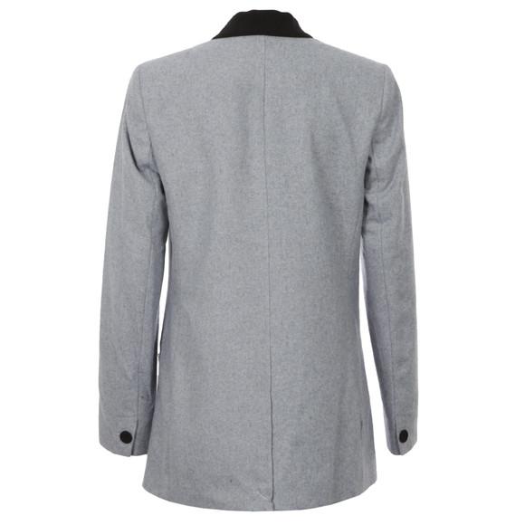Maison Scotch Womens Blue Longer Length Tuxedo Blazer main image