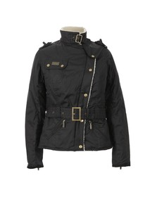 Barbour International Womens Black Matlock Wax Jacket