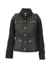 Barbour International Womens Black Crayford Jacket
