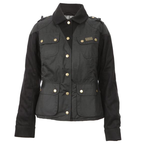 Barbour International Womens Black Crayford Jacket main image