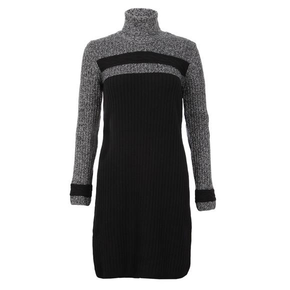 Barbour International Womens Black Rebecca Knitted Jumper Dress main image