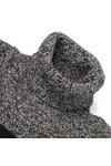 Barbour International Womens Black Rebecca Knitted Jumper Dress