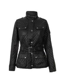 Barbour International Womens Black Grindleford Quilt