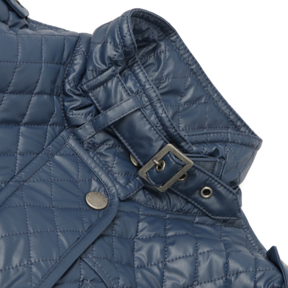 Barbour International Womens Blue Grindleford Quilt main image