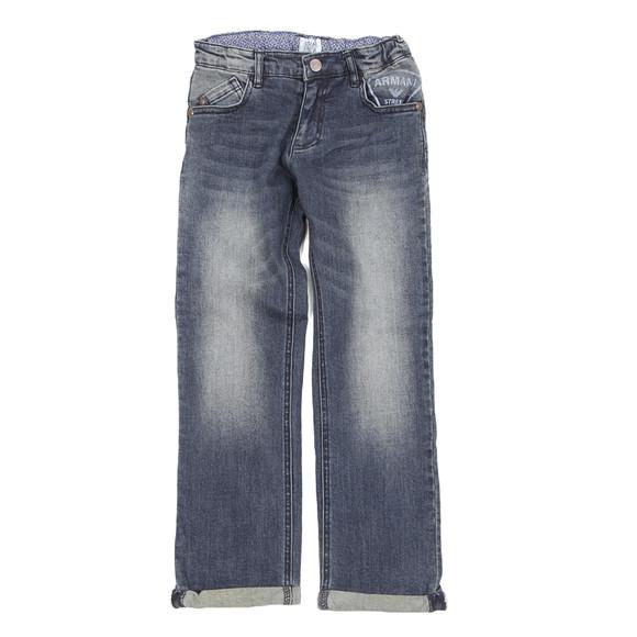 Armani Junior  Boys Blue Z4J08 Jean main image