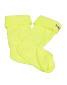 Hunter Unisex Yellow Neon Boot Socks