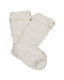 Hunter Womens Off-white Welly Socks