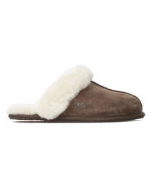 Ugg Womens Brown W Scuffette II Slipper