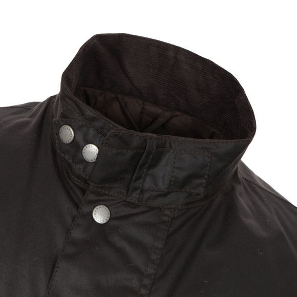 Barbour International Mens Brown Duke Wax Jacket