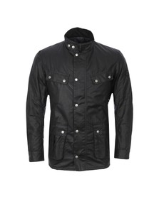 Barbour International Mens Black Duke Wax Jacket