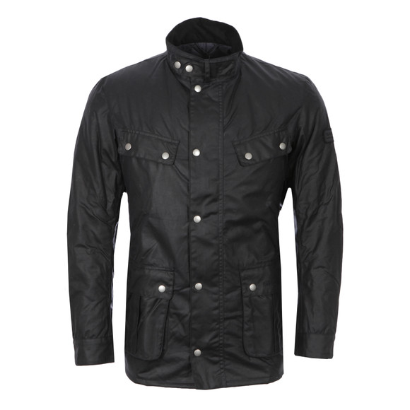 Barbour International Mens Black Duke Wax Jacket main image