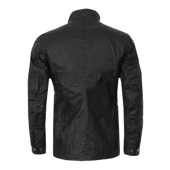 Barbour International Mens Black Duke Wax Jacket main image