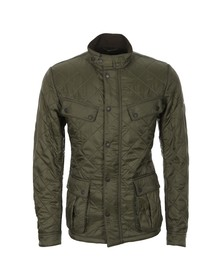 Barbour International Mens Green Ariel Polarquilt Jacket