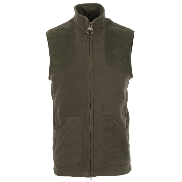 Barbour Sporting  Mens Green Dunmoor Gilet main image