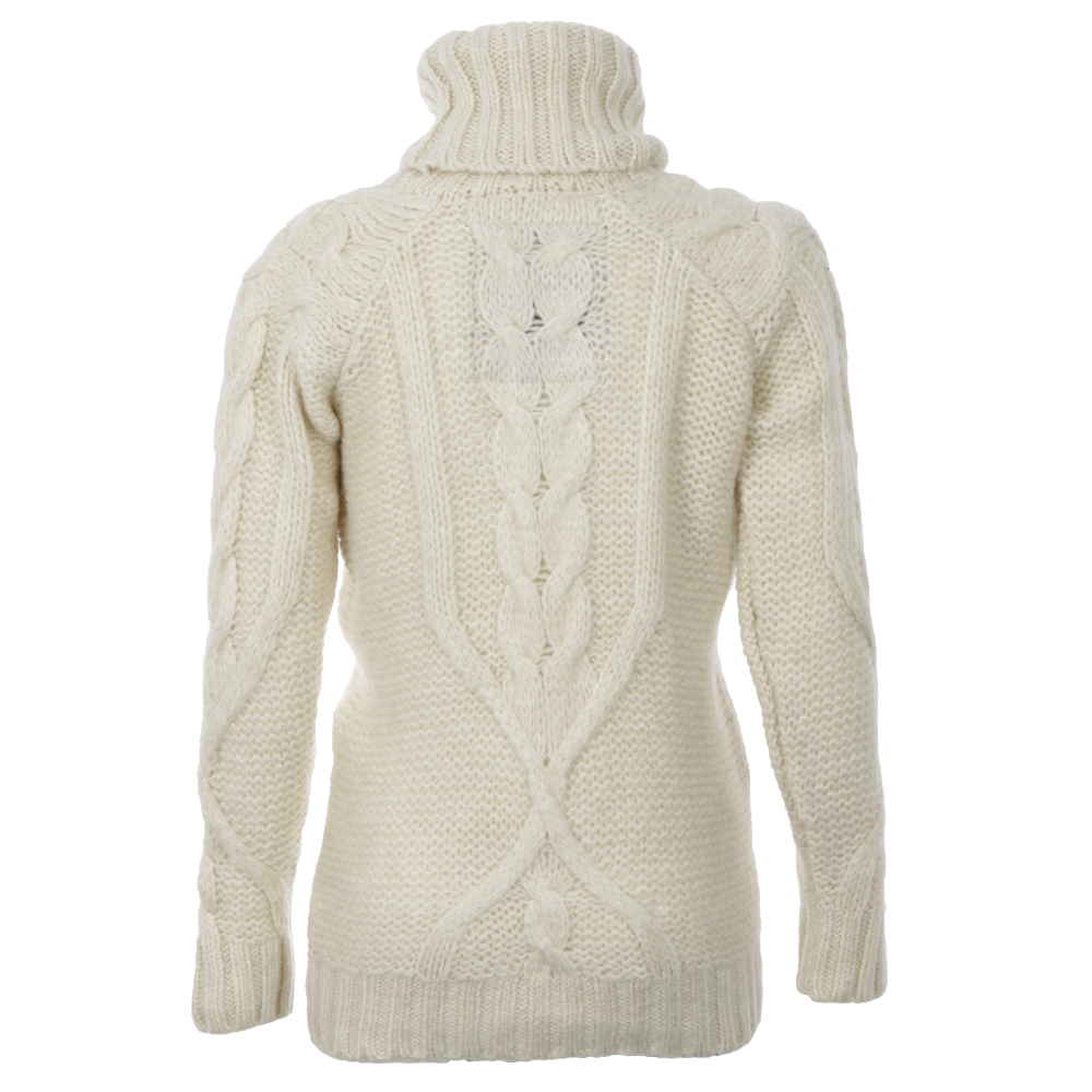 Super Slouch Cable Roll Neck Jumper main image