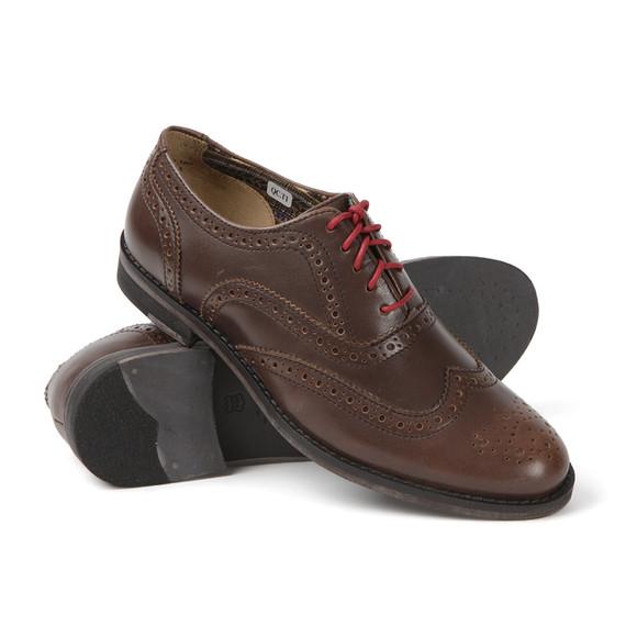 J Shoes Womens Brown Charlie Brogue Shoes main image