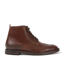 H By Hudson Mens Brown Harland Boot