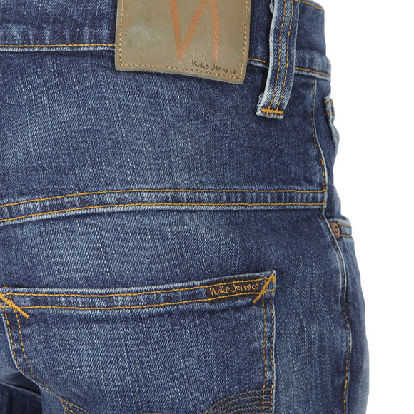 Nudie Jeans Mens Blue Jeans Tape Ted main image