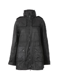 Barbour International Womens Black Roadhouse Parka