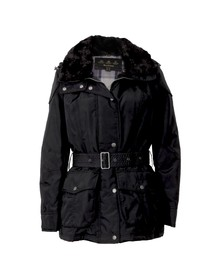 Barbour International Womens Black Outlaw Jacket
