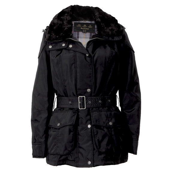 Barbour International Womens Black Outlaw Jacket main image