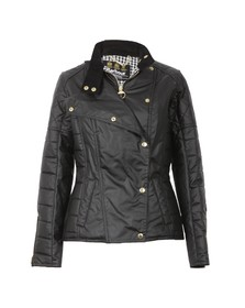 Barbour International Womens Black Axle Wax Jacket