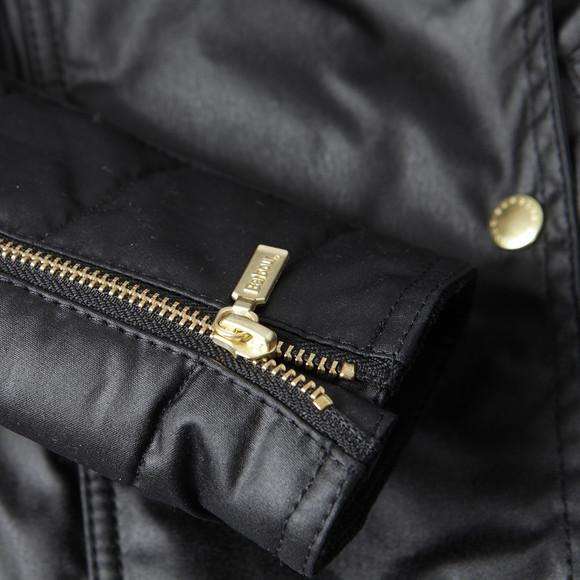 Barbour International Womens Black Axle Wax Jacket main image