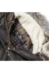Barbour Lifestyle Womens Green Kelsall Winter Parka