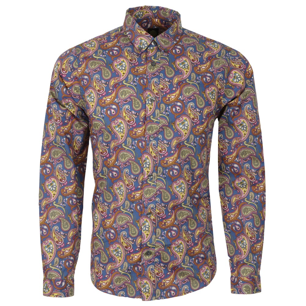 Vintage Paisley Cotton Shirt main image