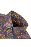 Pretty Green Mens Multicoloured Vintage Paisley Cotton Shirt