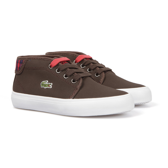 Lacoste Boys Brown Ampthill Chunky Hik Trainer main image