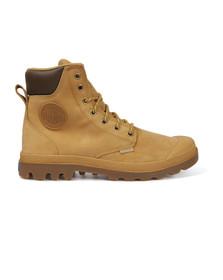 Palladium Mens Gold Pampa Sport Cuff Boot