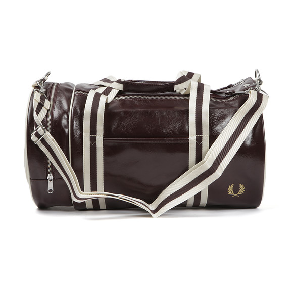 Fred Perry Sportswear Mens Red Classic Barrel Bag main image