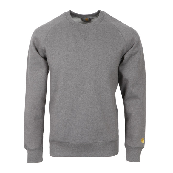 Carhartt WIP Mens Grey Chase Sweat