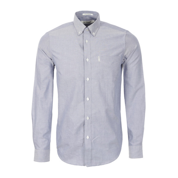 Ben Sherman Mens Blue True Classic Oxford Shirt main image