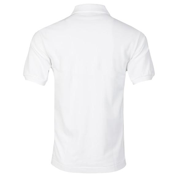 Lacoste Mens White L1212 Plain Polo Shirt main image