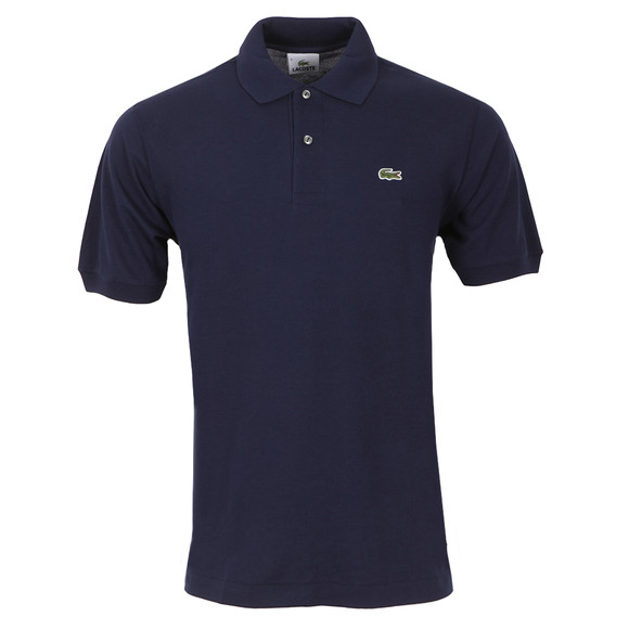 Lacoste Mens Blue S/S L1212 Polo  main image