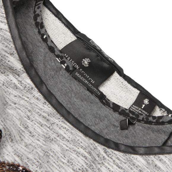Maison Scotch Womens Grey Sweat Sequence Print main image