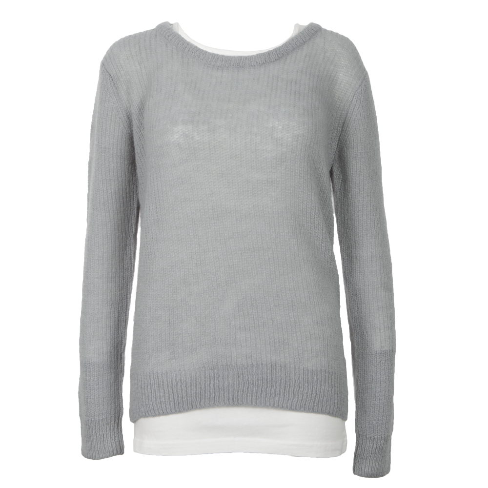 Knitted Top With Inner Tank main image