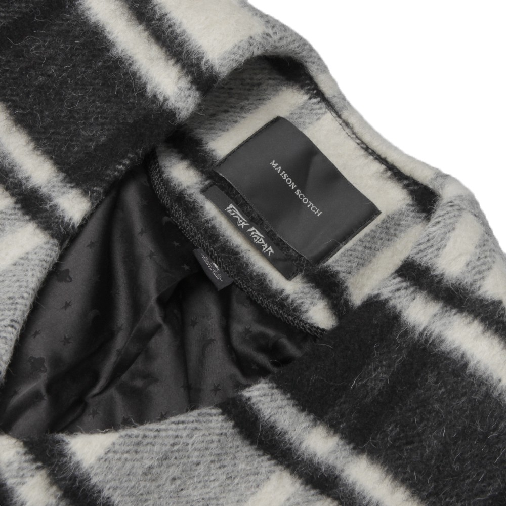 Throw On Jacket In Fluffy Check main image