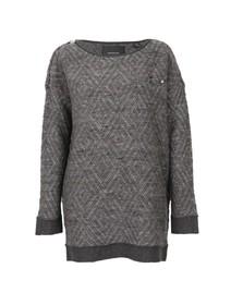 Maison Scotch Womens Grey Longer Length Sweater