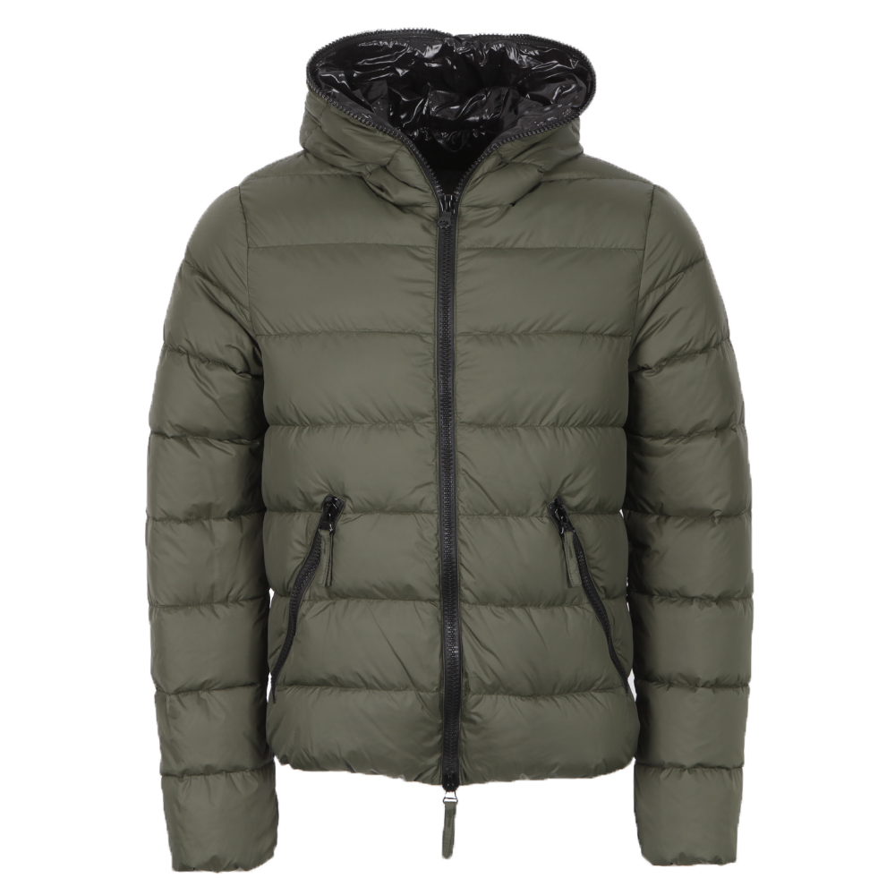 newest 2930c 012de Mens Green Dionisio Quilted Down Jacket
