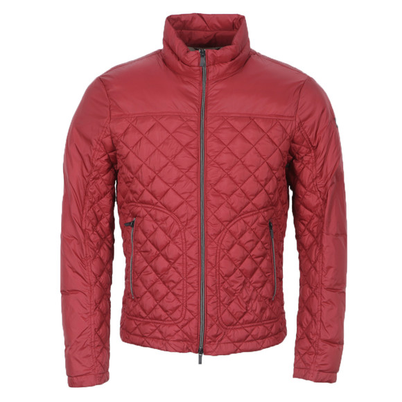 Armani Jeans Z6B71 Quilted Jacket | Oxygen Clothing : red quilted jacket mens - Adamdwight.com