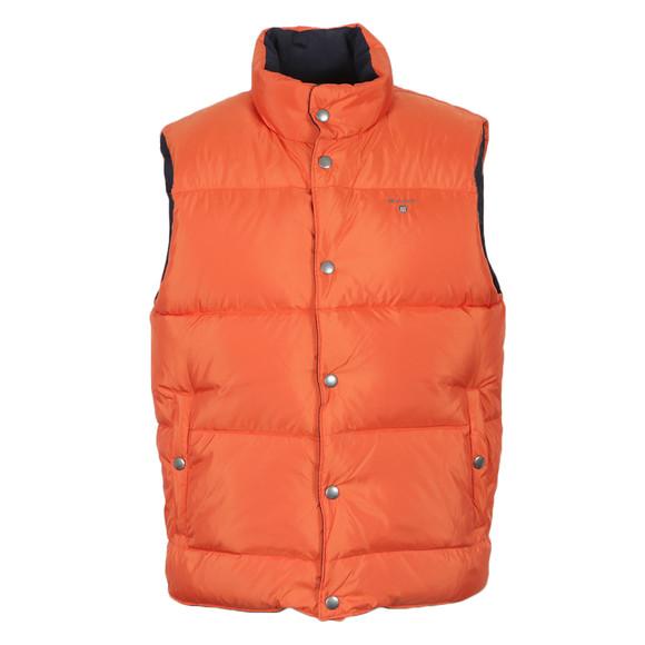 Gant Mens Blue Reversible Vest Jacket main image