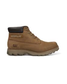 CAT Mens Brown Founder Boot