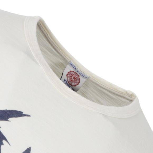 ab254c214 Franklin & Marshall Mens Yellow Rush Printed T-Shirt main image