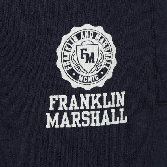 Franklin & Marshall Mens Blue Crew Neck Tracksuit main image