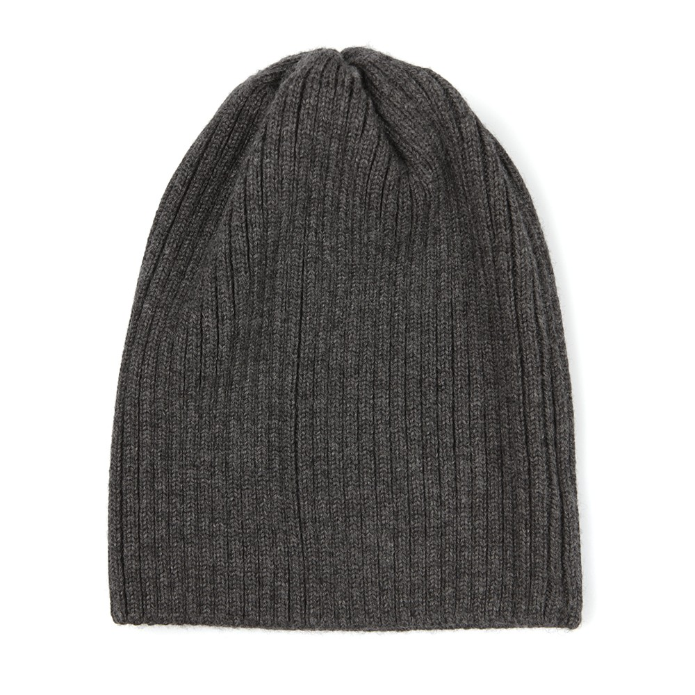 5208663deef Lacoste Unisex Grey RB3504 Ribbed Beanie