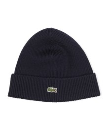 Lacoste Mens Blue RB3502 Beanie