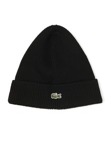 Lacoste Mens Black RB3502 Beanie